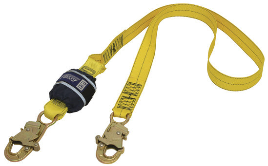 SALA Force 2 Single Webbing Lanyard with Small Hooks Default Title