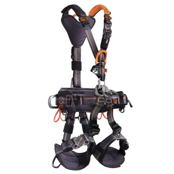 Skylotec Neon Rope Access Harness Front - G-AUS-1153