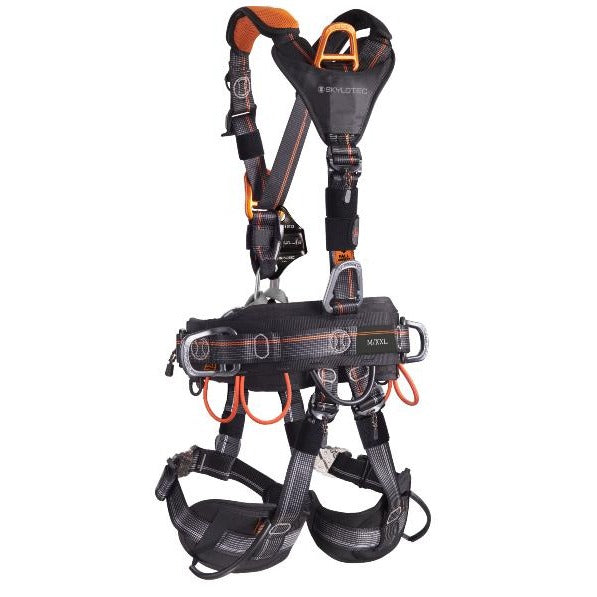 Skylotec Neon Rope Access Harness Rear - G-AUS-1153