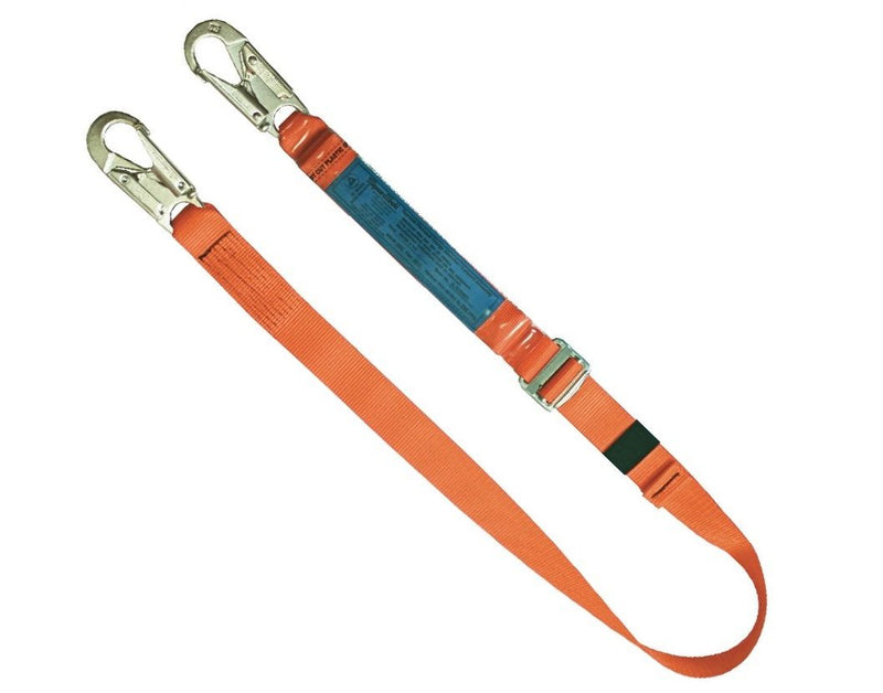 ERGO Single 1.8m webbing lanyard 3053 Adlustable