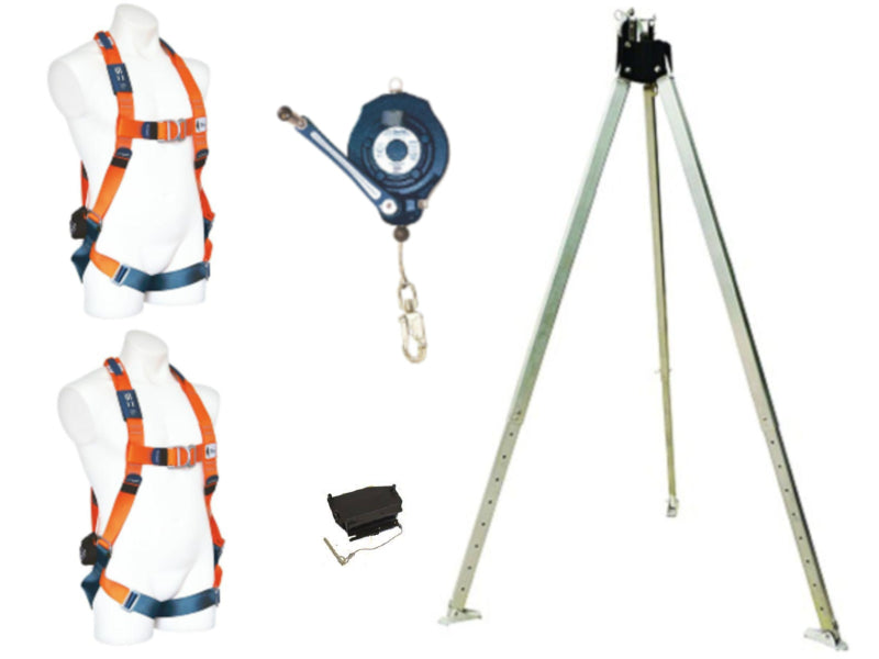 SPANSET Tripod and Retrieval Winch Kit