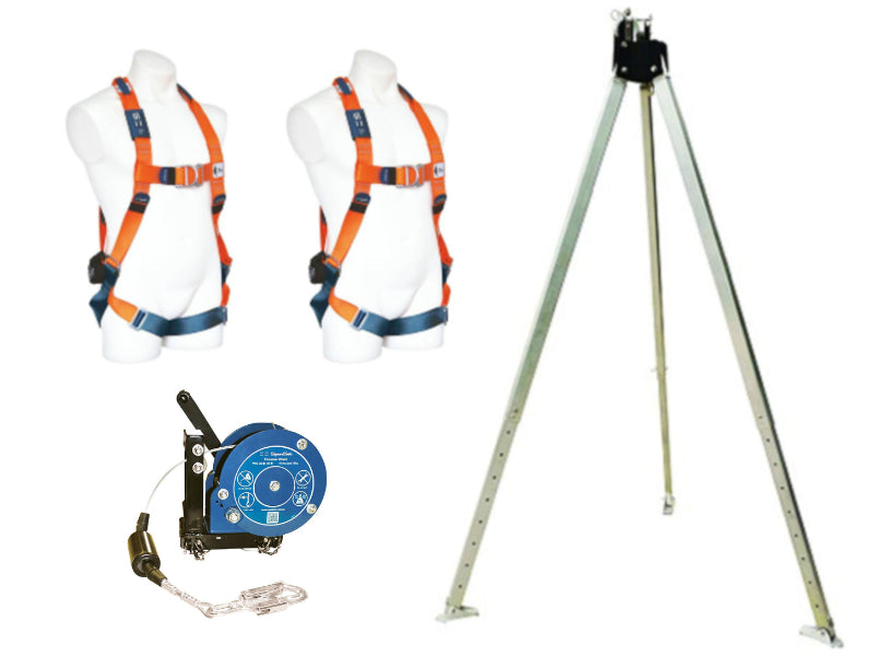 SPANSET Tripod and Personnel Winch Kit