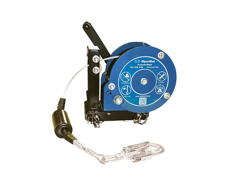 SPANSET Materials and Personnel Winch - SVLWB Series 20 metre
