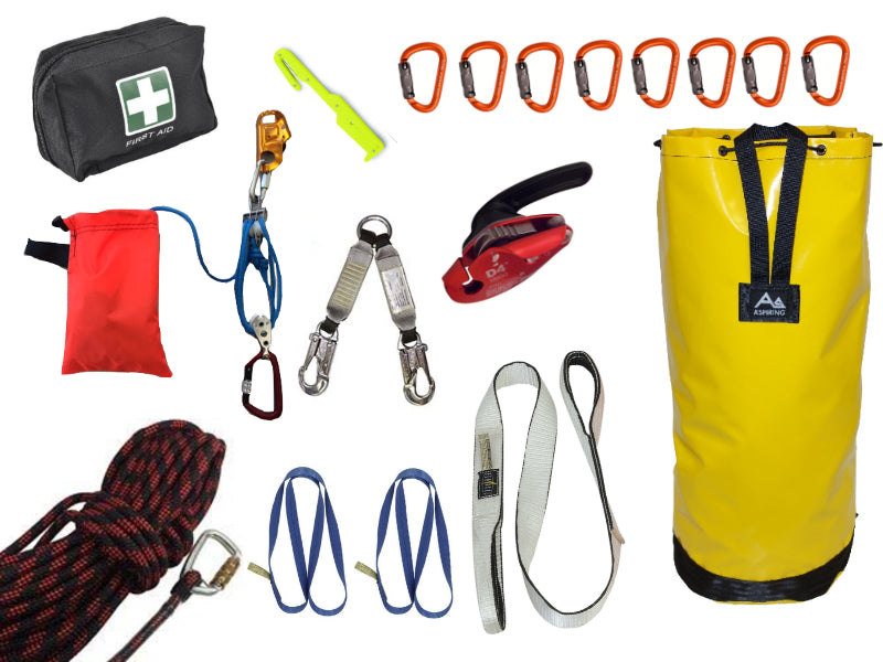 Tower Rescue Kit - Premium 50 metre