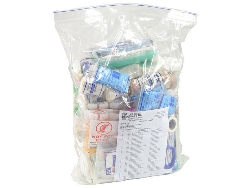 Trauma Major Emergency First Aid Kit - Refill