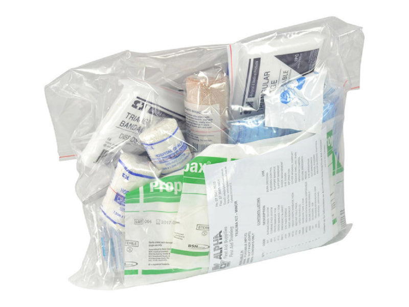 Trauma Minor Emergency First Aid Kit - Refill
