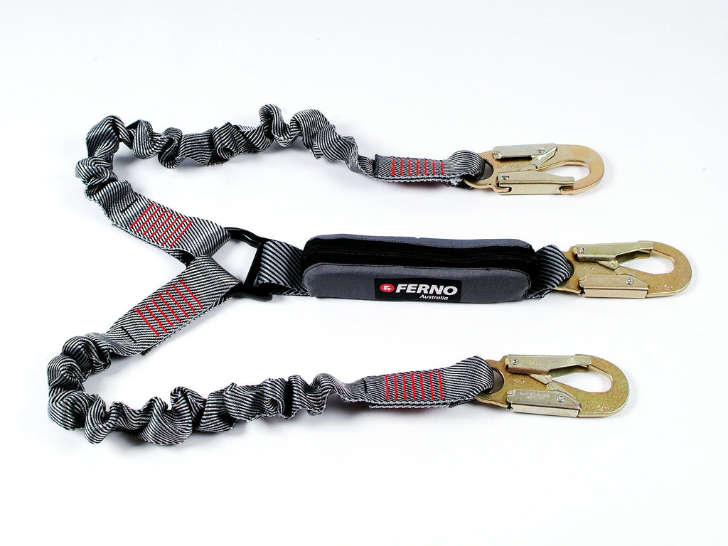 FERNO Twin Lanyards with Double Action Hooks