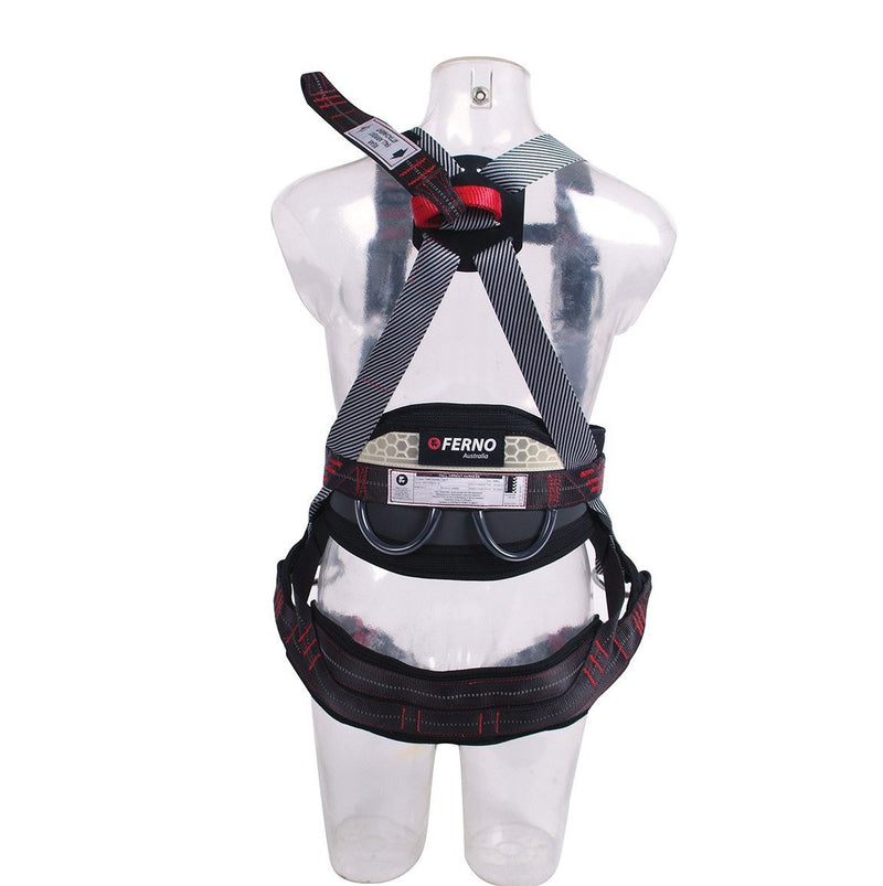 FERNO Tower 5 Full Body Harness - Rear