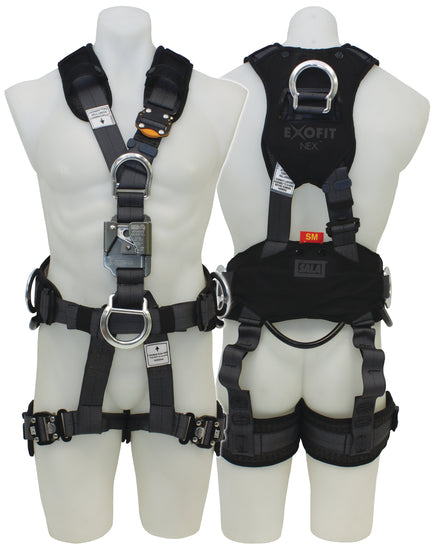 SALA ExoFit Suspension Harness c/w Ascender Small