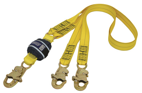 SALA Force 2 Twin Webbing Lanyard with Small Hooks