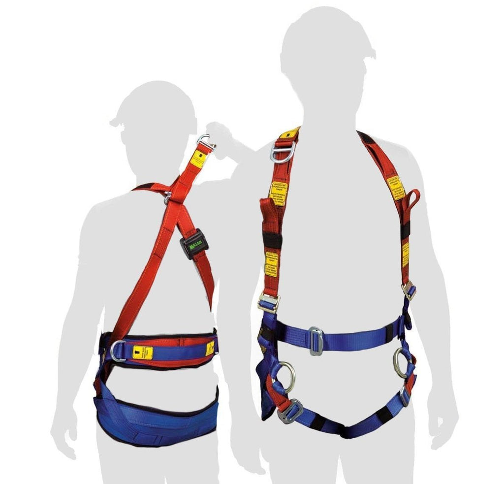MILLER Tower Worker Harness Med