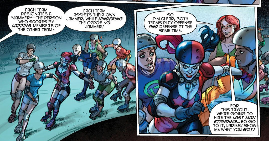 Roller Derby's Favorite Superhero – Frogmouth