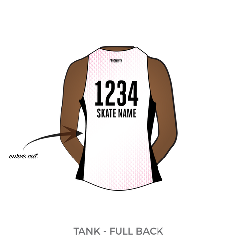 4fee89eeee4b Tampa Roller Derby: 2017 Uniform Jersey (White) – Frogmouth