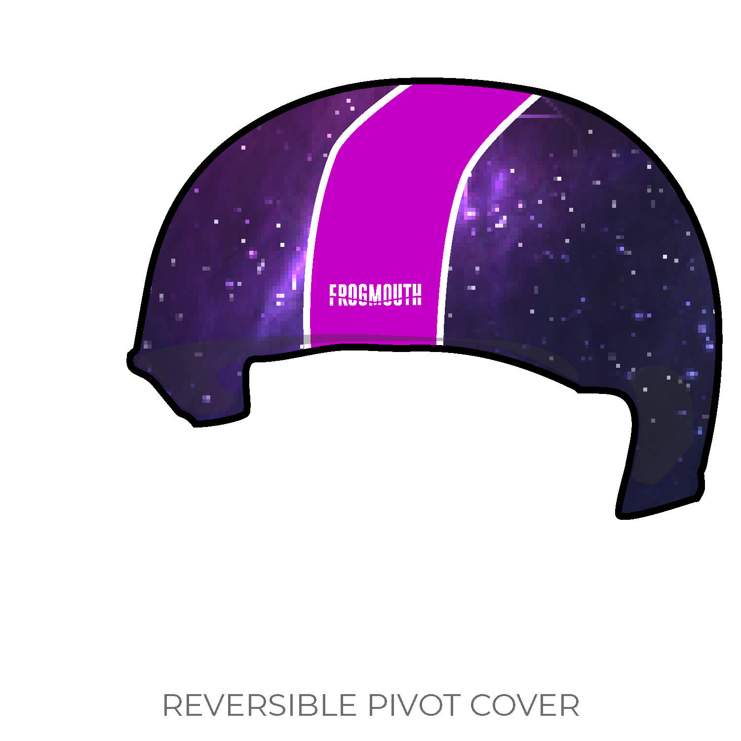 Sea and Space STEM Rollercon Teams: 2019 Pivot Helmet Cover (Pink) -  Frogmouth