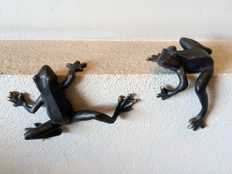 Iron Coqui Frogs
