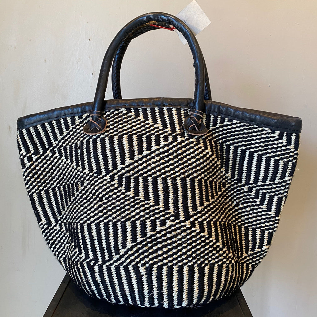 Hand woven African tote