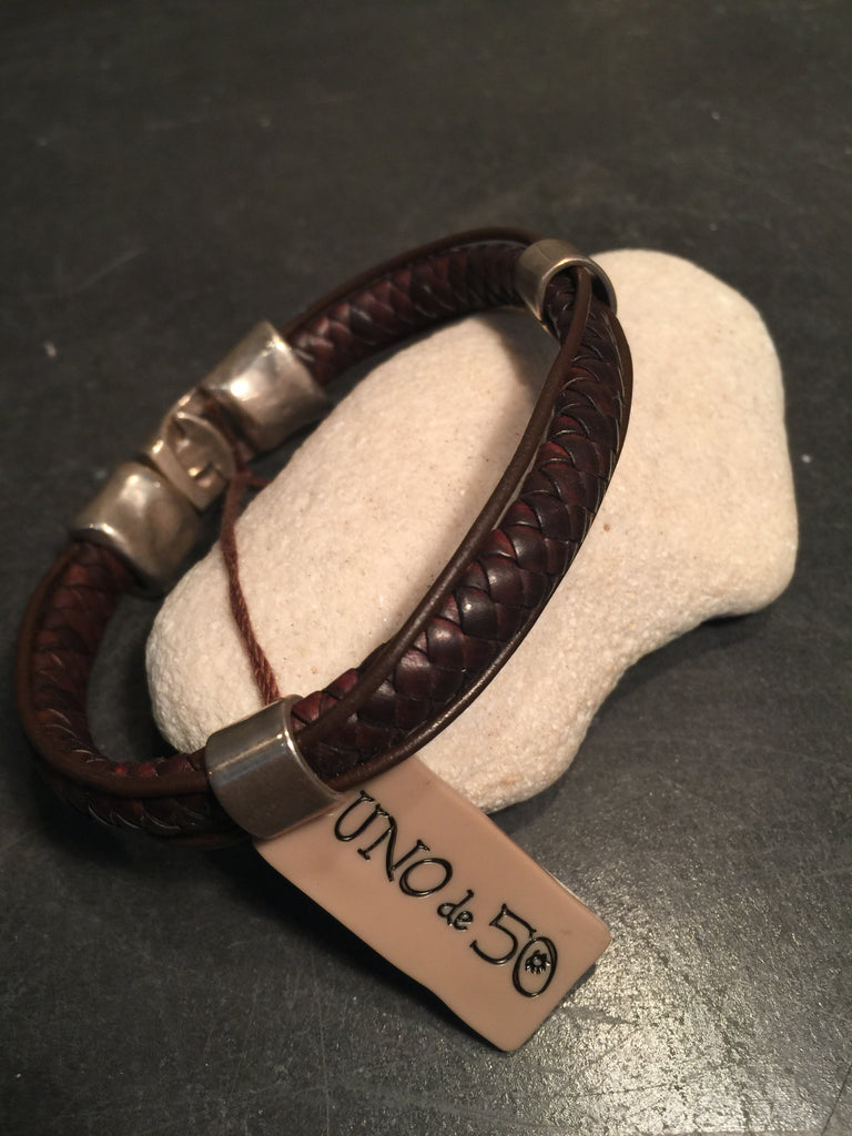 "UNOde50 - 9"" length, men's bracelet"
