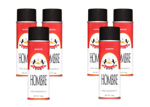 Hombre Red Spray Deodorant (6 Pack)