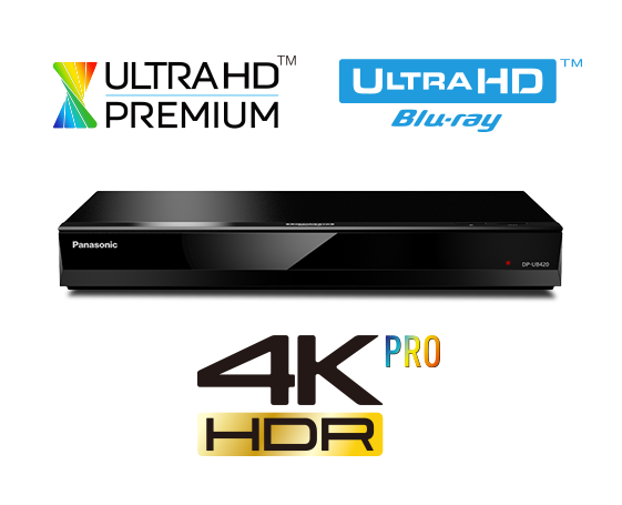 Panasonic DP-UB420 Blu-Ray Player