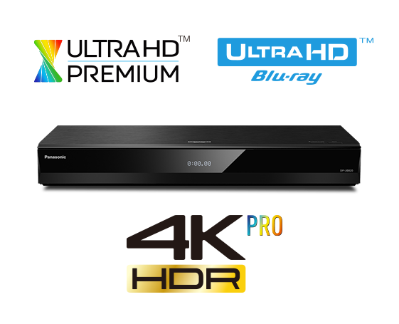 Panasonic DP-UB820 4K Blu-Ray Disc Player
