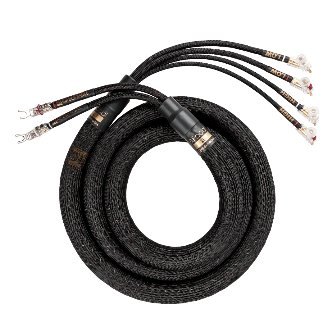 Kimber Kable BiFocal-XL Bi-Wired Loudspeaker Cables – Audioshop