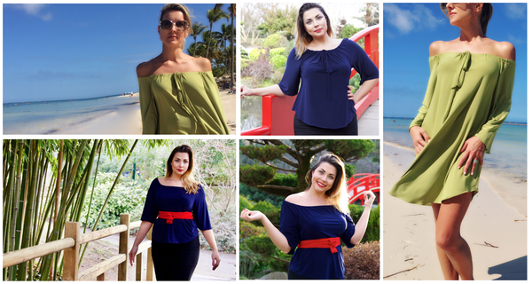 Spring Travel Fashion: Off Shoulder Peasant Tops & Tunics!