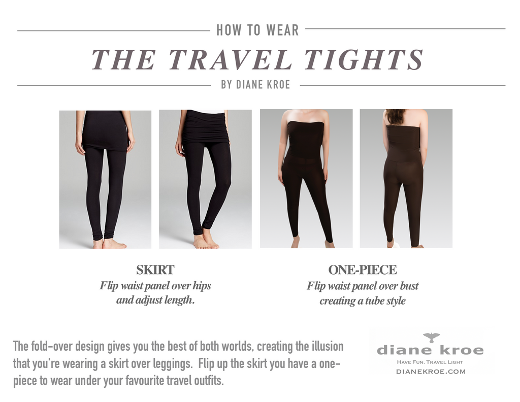 Diane Kroe How to wear Travel Tights
