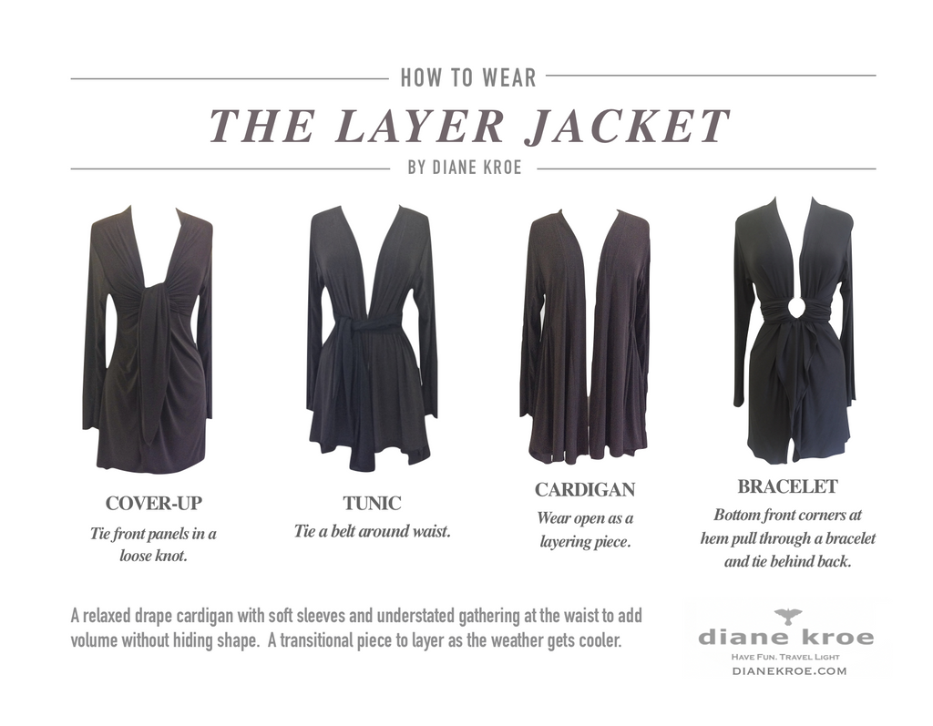 Style Guide for Diane Kroe Layer Jacket