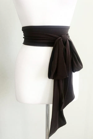 Travel Accessory Sash belt in Black