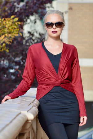 Wrap Top - Brushed Venezia