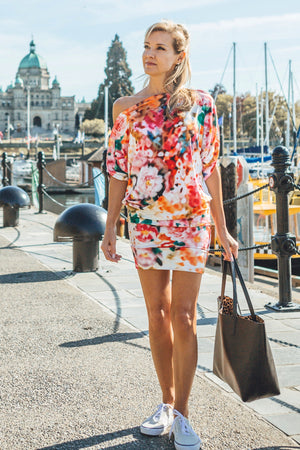 Diane Kroe Wear-Ever Skirt Dress in Victoria Harbour