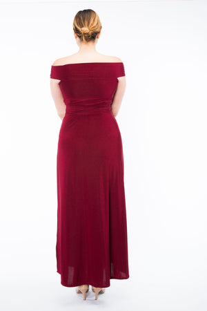 Diane Kroe Ultimate Holiday Dress - Convertible Maxi Dress back view full size
