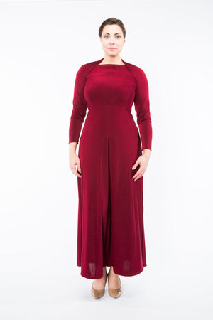 Diane Kroe Ultimate Holiday Dress - Convertible Maxi Dress with sleeve sash full size
