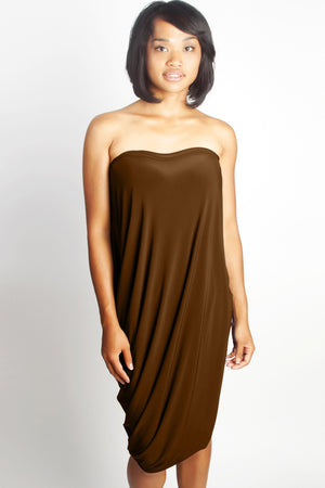 Diane Kroe Origami Top - Travel Dress espresso