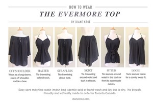 Diane Kroe Evermore Peasant Top style Guide