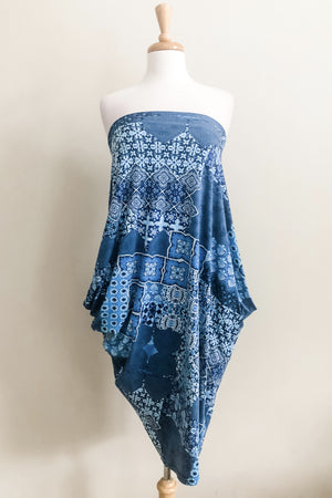 Origami Travel Dress | Moroccan Print