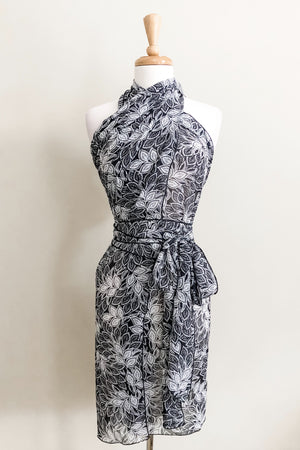 Butterfly Wrap - Lace Print
