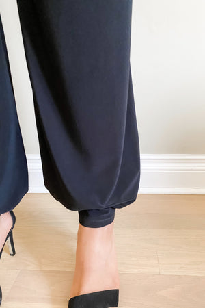 Pocket Pants : Wide-leg to Dressy Joggers ankle view worn jogger style