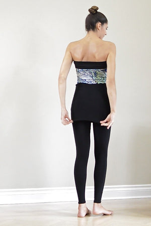 Diane Kroe Travel Tights worn back view