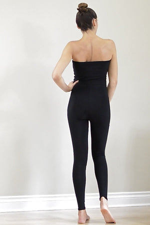 Diane Kroe Travel Tights worn one piece back view