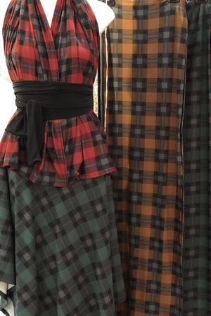 Tartan Print Carry-On-Cozy