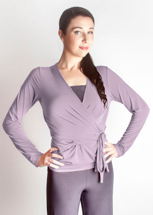 Diane Kroe Wrap top - Travel Cardigan