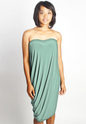 Diane Kroe Origami Top - Travel Dress  In New Spring Colour Ocean Wave