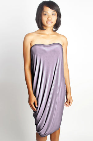 Diane Kroe Origami Top - Travel Dress in New Spring Colour Lavender Shell