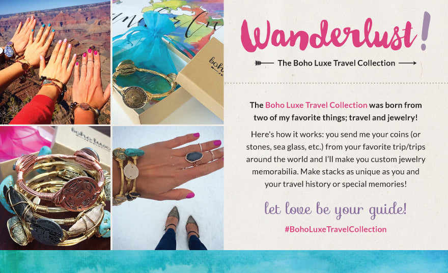 Boho Luxe Travel Collection
