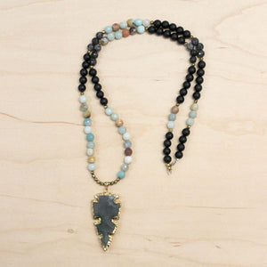 The Charlotte - Semi-Precious Agate Necklace