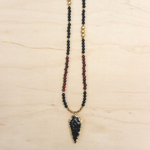 The Hazel - Semi-Precious Agate Necklace
