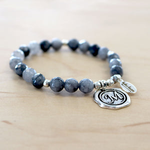 The Bella - Blue Aventurine Bracelet