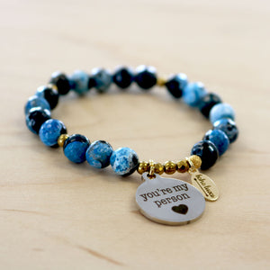 The Alex  - Semi-precious Bracelet