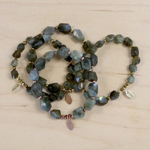 The Louisa - Labradorite Bracelet